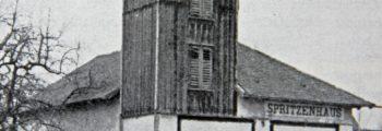 Einzug Spritzenhaus Dorfbach