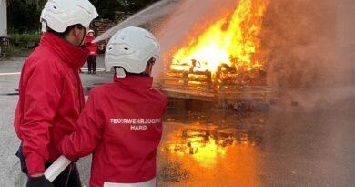 Feuerwehrjugend – Gesamtübung